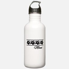 B & W Maui Hibiscus Water Bottle