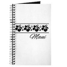 B & W Maui Hibiscus Journal