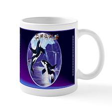 Orca Christmas Oval Mugs