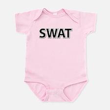 SWAT - Black Infant Bodysuit