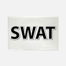 SWAT - Black Rectangle Magnet