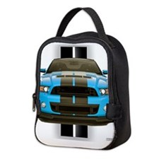 2013stangblue.png Neoprene Lunch Bag
