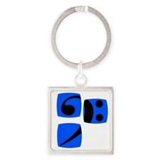 Bass clef for bass player and bass Square Keychain