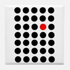 Points, Fashion Art Design, Think Dif Tile Coaster