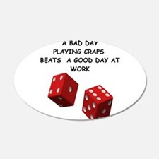 CRAPS2 Wall Decal
