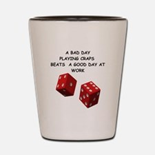 CRAPS2 Shot Glass