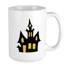 Halloween Haunted House Mugs