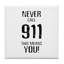 911 Tile Coaster