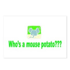 Mouse Potato Postcards (Package of 8)