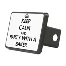 Keep Calm and Party With a Baker Hitch Cover