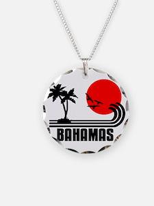 Bahamas, Sonne Palmen Strand Necklace