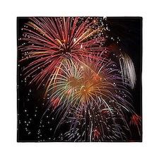 Firework013 Queen Duvet