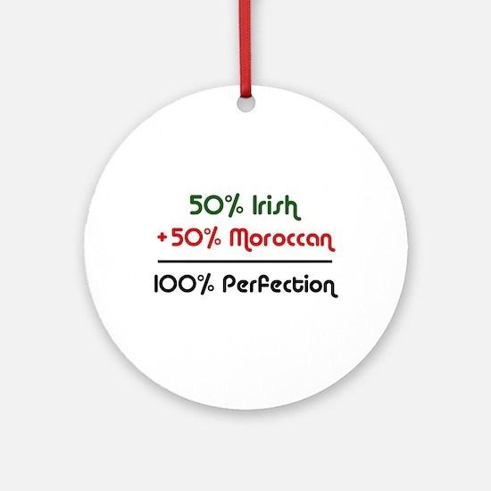 Irish & Moroccan Ornament (Round)