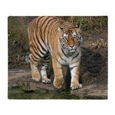 Tiger007 Throw Blanket