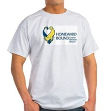 Homeward Bound Logo Wear Ash Grey T-Shirt