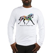Charkas Horse Long Sleeve T-Shirt