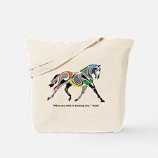 Charkas Horse Tote Bag