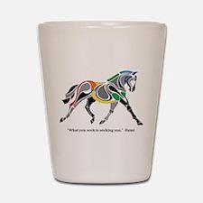 Charkas Horse Shot Glass
