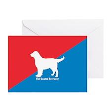 Retriever Diagonal Greeting Cards (Pk of 10)
