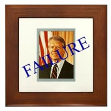 Jimmy Carter Failure Framed Tile