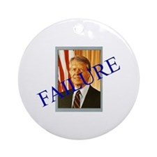 Jimmy Carter Failure Ornament (Round)