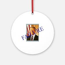 Jimmy Carter Failure Ornament (Round)