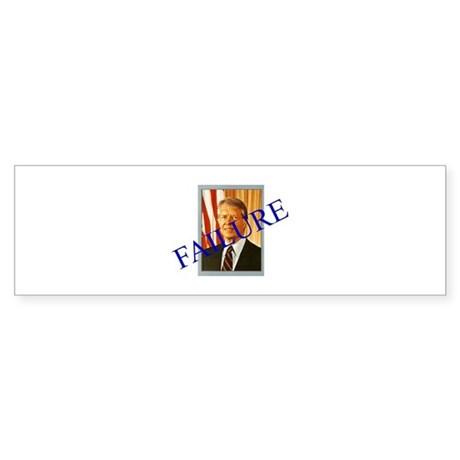 Jimmy Carter Failure Bumper Sticker
