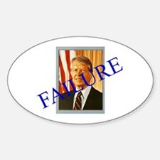Jimmy Carter Failure Oval Decal