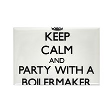 Keep Calm and Party With a Boilermaker Magnets