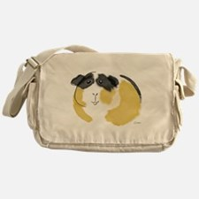 Watercolor Piggie Messenger Bag