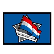 """Luxembourg Star Flag"" Postcards (Package of 8)"