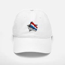 """""""Luxembourg Star Flag"""" Baseball Baseball Cap"""