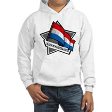 """Luxembourg Star Flag"" Hoodie"