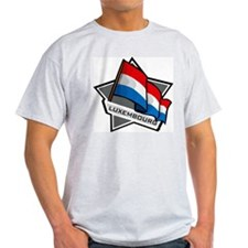 """Luxembourg Star Flag"" T-Shirt"