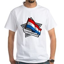 """Luxembourg Star Flag"" Shirt"