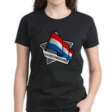 """""""Luxembourg Star Flag"""" Tee"""
