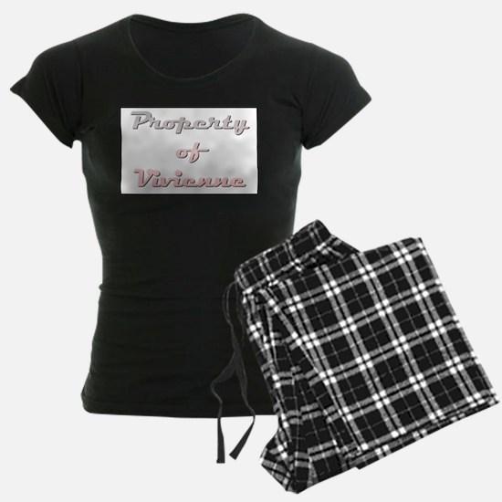 Property Of Vivienne Female Pajamas