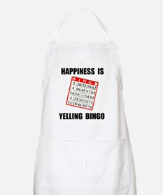 BINGO HAPPY BBQ Apron