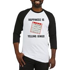 BINGO HAPPY Baseball Jersey