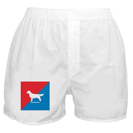 Golden Diagonal Boxer Shorts