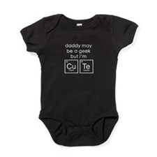 CuTe Periodic Table Baby Bodysuit