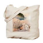 Bunny Rabbit in the Snow Tote Bag