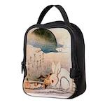 Bunny Rabbit in the Snow Neoprene Lunch Bag