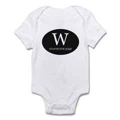 W Stands For WAR! Infant Creeper
