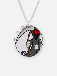 Halloween Grim Reaper Necklace