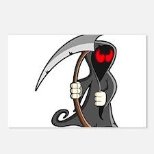 Halloween Grim Reaper Postcards (Package of 8)