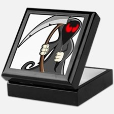 Halloween Grim Reaper Keepsake Box