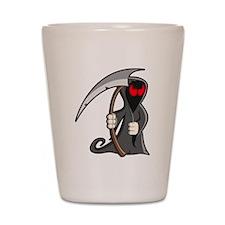 Halloween Grim Reaper Shot Glass