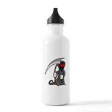 Halloween Grim Reaper Water Bottle
