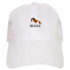 Cartoon Beagle Baseball Cap